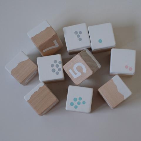 Numbritega koogiklotsid