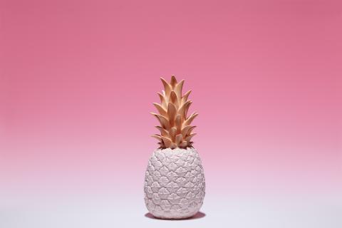 Valgusti Ananass roosa