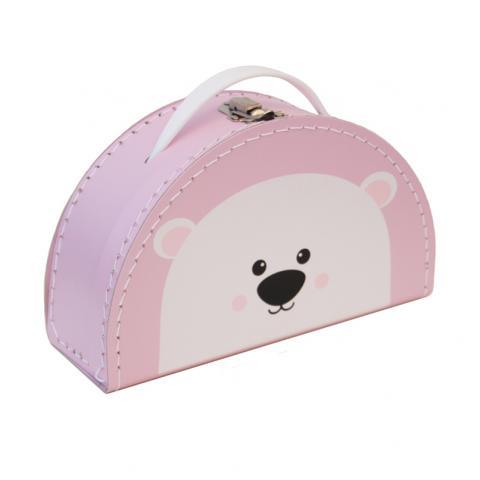 Jääkaru kohver roosa