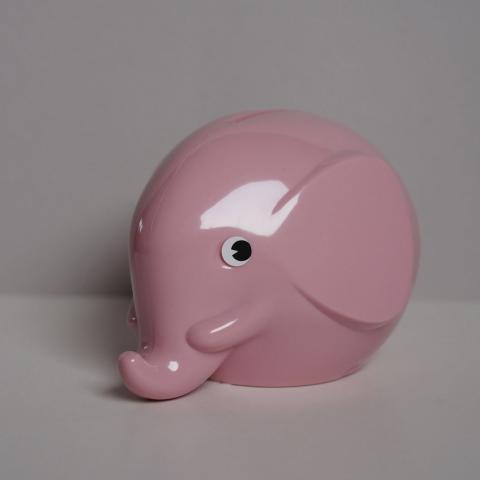 NORSU elevandi rahakassa roosa